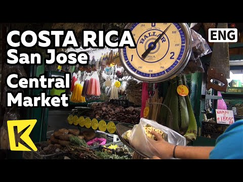 Video 【K】Costa Rica Travel-San Jose[코스타리카 여행-산호세]1880년 중앙시장/Central Market/Souvenir/Pura Vida/Mercado