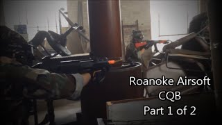 preview picture of video 'Roanoke Airsoft CQB (August 2,2014) Part 1 of 2 HD'