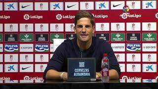 Rueda de prensa Granada CF vs Sevilla FC
