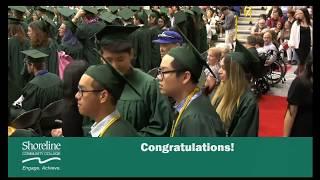 Shoreline Community College Commencement Ceremony - June 21, 2018 - 6pm