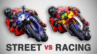 STREET BIKE  VS  RACING BIKE - DIFFERENCES [English Subtitles]