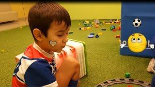 Детская Площадка Лего с Игрушками и Машинками Для ДЕТЕЙ Паровозик Томас Plays with Thomas