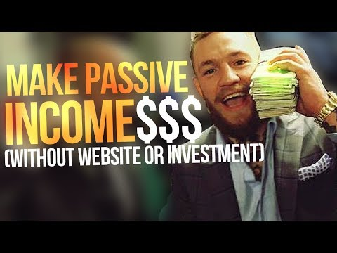 HOW TO MAKE PASSIVE INCOME WITHOUT A WEBSITE OR INVESTMENT! ($200-$300 A DAY)