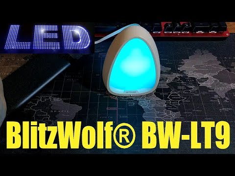 BlitzWolf® BW-LT9 - Unboxing/Review