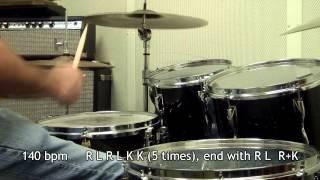 #10 Double Bass Fill RLRLKK