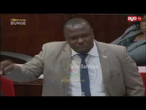 """Mnachoma moto nyumba na watu bado mnawafunga? ""- John Heche"