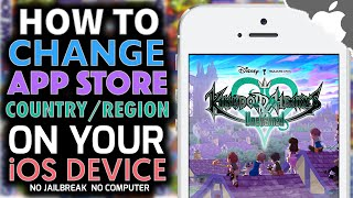 How to Change App Store Country or Region on your iOS Device! iOS 9.3.1 & ↓ No Credit Card Required!