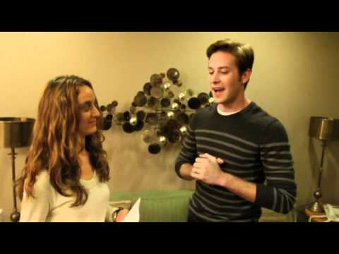 Lauren Interviews Armie Hammer