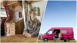 COUPLE Creates SUCCESSFUL BUSINESS from THIS Van Conversion