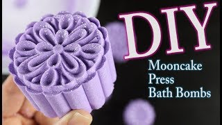 DIY Mooncake Press Bath Bombs
