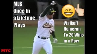 MLB Once In a Lifetime Plays