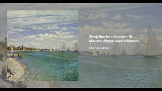 String Quartet in G major