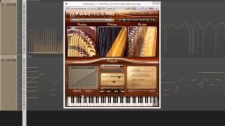 Harpvideo
