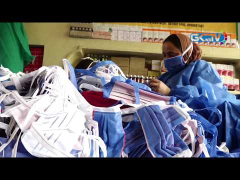 Voluntary group mobilising skilled youth for mass production of masks