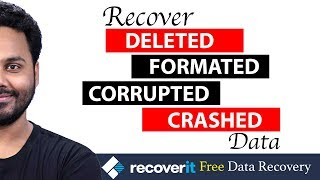 Hard Drive Data Recovery Software |  Recoverit Free
