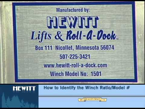 How to Identify the Lift Model and Winch Ratio