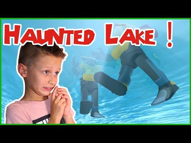 SCUBA DIVING AT A HAUNTED LAKE! ft. KarinaOMG