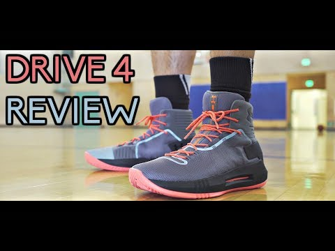 Under Armour Drive 4 Performance Review!