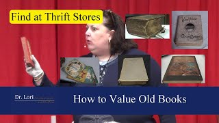 How to Value Old Antique Books by Dr. Lori