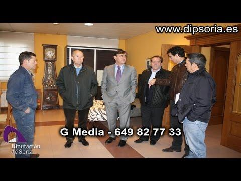 Visita a dos de las empresas agrupadas en Talea. / Dip