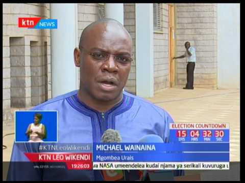 Mdahalo wa Urais : Maandalizi yakamilika