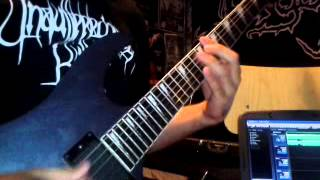 collection by blood-dismember guitar cover