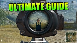 Ultimate Beginners Guide To PlayerUnknown