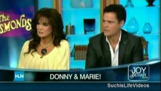 Joy Behar Talks Mormonism With Donny & Marie Osmond