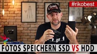 Fotos sicher speichern, aber was ist besser SD oder HDD - Adata SE760 1TB  SSD im Vergleich