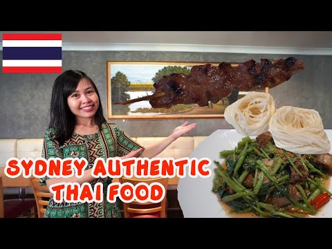 Download DELICIOUS Thai Street Food Tour in Sydney Thai Town | Trying SOUTHERN THAILAND Dish Mp4 HD Video and MP3
