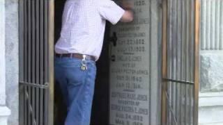 Jones' mausoleum opened