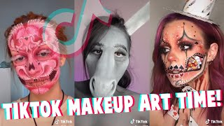 TikTok Fresh Crazy Makeup Art