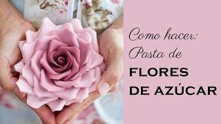 Megasilvita{tienda y blog}-Receta de pasta de flores