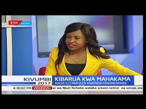 Kivumbi2017: Kibarua kwa mahakama