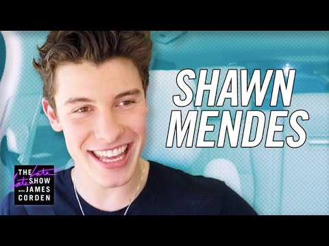 Shawn Mendes Carpool Karaoke -- #LateLateShawn - The Late Late Show With James Corden