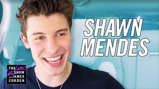 Shawn Mendes Carpool  -- #latelateshawn