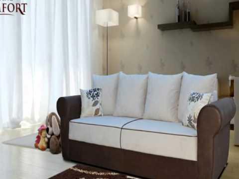 LivingComfort Big Sofa im kolonialstil