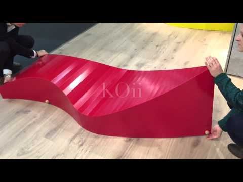 Youtube-Video about the KOii Sun Lounger by manufacturer Müller Möbelwerkstätten