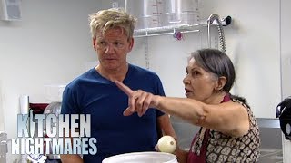 Gordon Ramsay Gets Caught In The Middle Of A MASSIVE ARGUMENT | Kitchen Nightmares