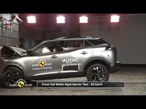Euro NCAP Crash & Safety Tests of Peugeot 2008 2019