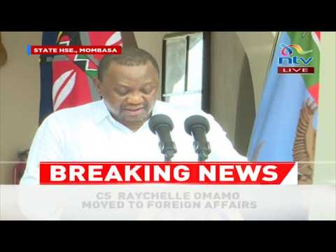 Cabinet Reshuffle: President Uhuru fires Agriculture CS Mwangi Kiunjuri