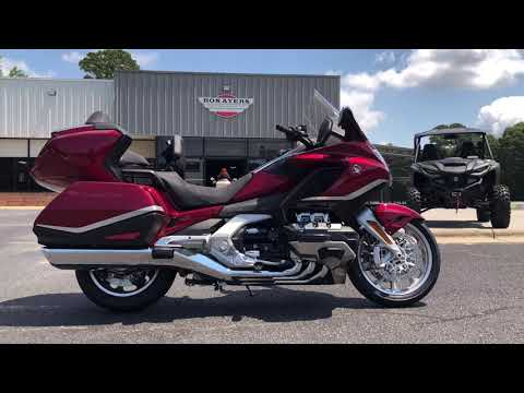 2021 Honda Gold Wing Tour Automatic DCT in Greenville, North Carolina - Video 1