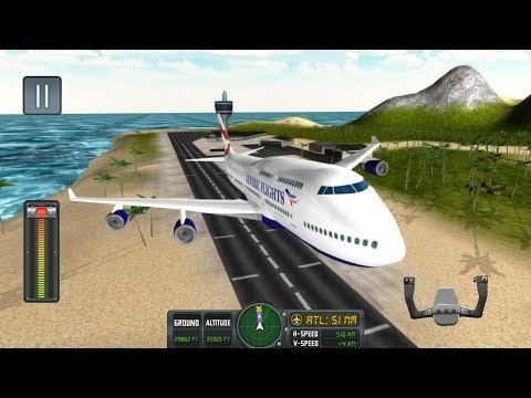 Flight Simulator: Fly Plane 3D - Android Gameplay FHD