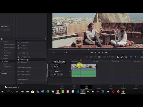 Come trasformare video e clip in vecchi film con DaVinci Resolve