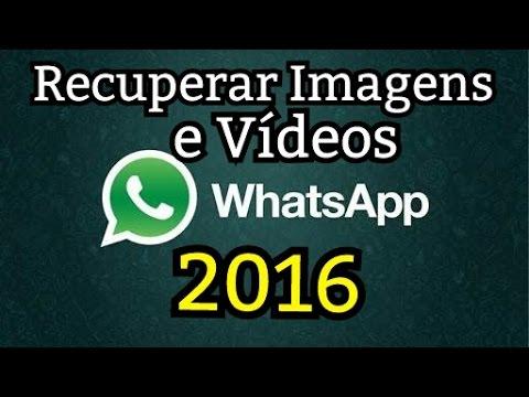 Como Recuperar Imagens e Vídeos Excluídos do WhatsApp