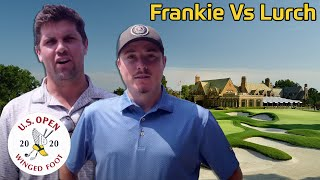 Frankie vs. Lurch at Winged Foot Golf Club in U.S. Open Conditions