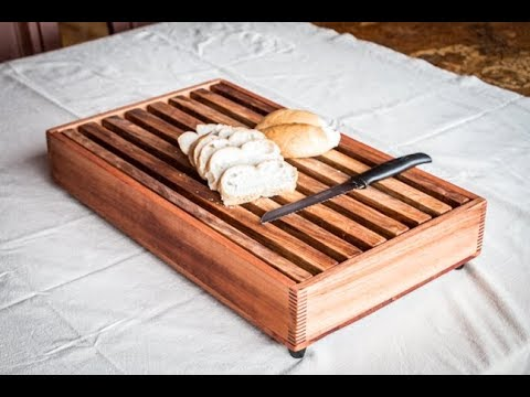 INCREÍBLE Tabla Para Cortar Pan - Bread Cutting Board