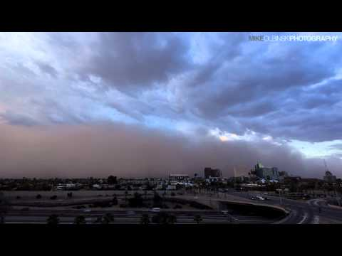 تصوير سريع لعاصفة في دقيقة HD
