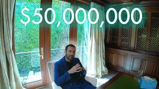 Inside a $50 Million Dollar Los Angeles Mansion