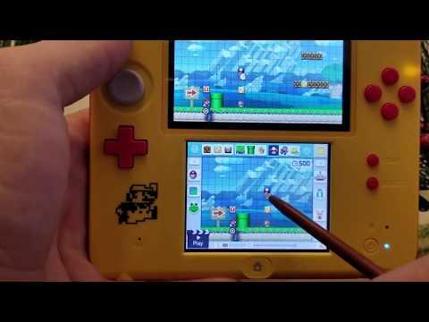 Super Mario Maker 2ds Intro and Short Demo